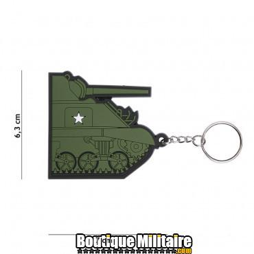 Porte-clés 3D PVC Sherman Tank 104