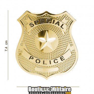 Badge - special police or 7028