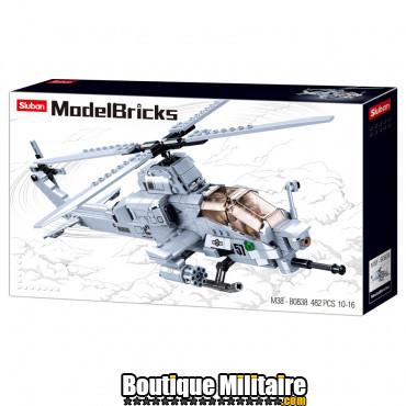 Sluban - Attack Helicopter M38-B0838