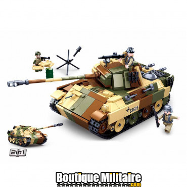 Sluban Medium German Tank M38-B0859 16084