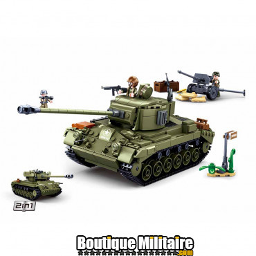 Sluban Allied medium tank M38-B0860 16116
