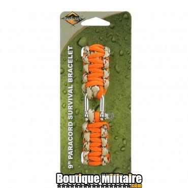 BCB Paracorde avec boucle en fer 9 inch orange CM074OR