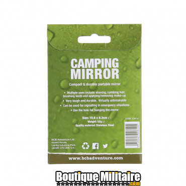BCB Miroir de camping S/S CS614